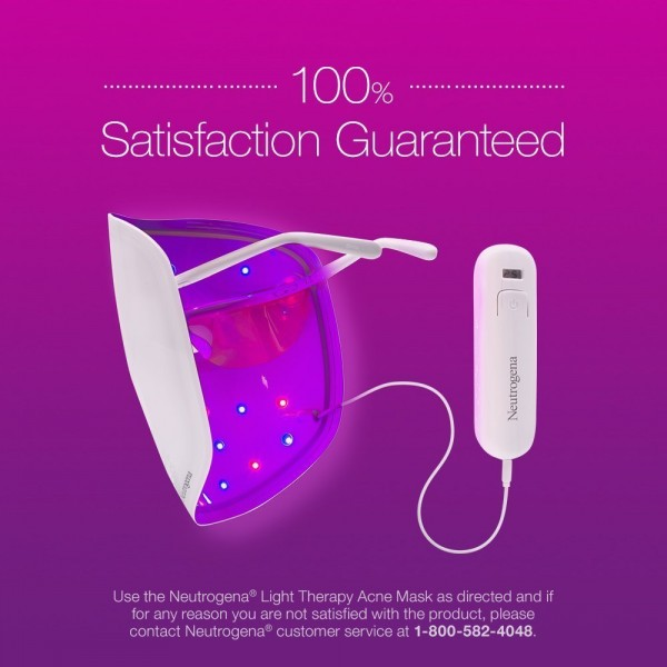 Light Therapy For Acne At Home: Neutrogena Light Therapy Acne Mask Activator
