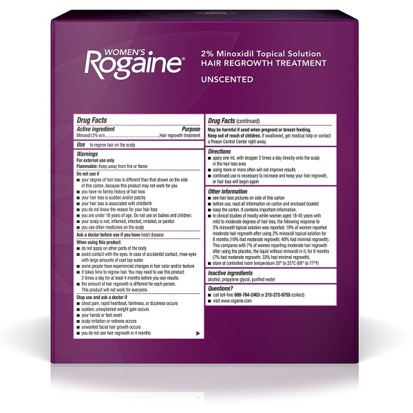WOMENs ROGAINE® TOPICAL SOLUTION 3-MONTH SUPPLY2