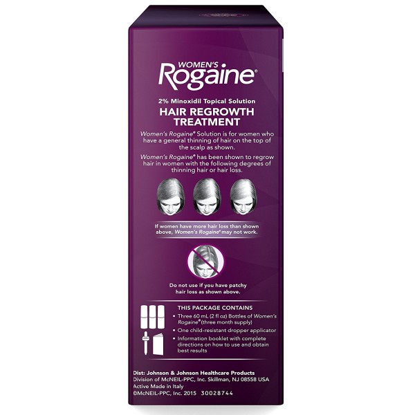 WOMENs ROGAINE® TOPICAL SOLUTION 3-MONTH SUPPLY4